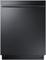"Samsung 24"" Built-In Black Stainless Steel Dishwasher"