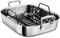 All-Clad Stainless Steel Large Roasting Pan With Rack