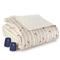 Shavel Micro Flannel Queen Cardinals Electric Heated Comforter Blanket