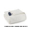 Shavel Micro Flannel Queen Ivory Electric Heated Comforter Blanket