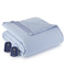 Shavel Micro Flannel Reverse Sherpa Queen Wedgewood Electric Heated Blanket
