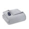 Shavel Micro Flannel Twin Greystone Electric Heated Comforter Blanket