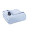 Shavel Micro Flannel Twin Wedgewood Electric Heated Comforter Blanket