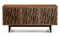 BDI Elements Wheat Natural Walnut Media with Triple-Width Storage Cabinet