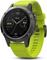 Garmin 47mm Fenix 5 Slate Gray With Amp Yellow Band GPS Multisport Smartwatch