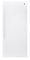 GE White Frost-Free Upright Freezer