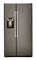 GE Slate 23.2 Cu. Ft. Side-By-Side Refrigerator