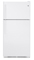 GE White Top-Freezer Refrigerator