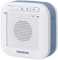 Sangean White Portable Waterproof Bluetooth Speaker