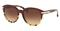 Coach L111 Tag Temple Round Womens Sunglasses