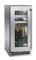 """Perlick Signature Series 15"""" Stainless Steel Glass Door Left Hinged Indoor Beverage Center"""