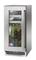 "Perlick Signature Series 15"" Glass Door Left Hinged Outdoor Beverage Center With Classic Handle"