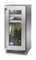 "Perlick Signature Series 15"" Stainless Steel Glass Door Right Hinged Indoor Beverage Center"