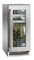"Perlick Signature Series 15"" Glass Door Right Hinged Beverage Center With Classic Handle"