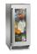 """Perlick Signature Series 15"""" Stainless Steel Glass Door Indoor Refrigerator"""