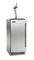 """Perlick Signature Series Adara 15"""" Solid Stainless Steel Door Left Hinged Indoor Beer Dispenser"""