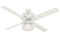 "Hunter Brunswick 60"" Fresh White Ceiling Fan"