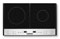 Cuisinart Black Double Induction Cooktop