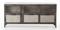 Four Hands Antique Nickel Element Media Console