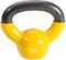 Body-Solid 5 lb Vinyl Dipped Yellow Kettlebell