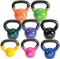 Body-Solid 5-30 lb. Vinyl Dipped Kettlebell Set