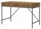 kathy ireland Office By Bush Furniture Vintage Golden Pine Ironworks 48W Writing Desk