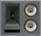 Klipsch Galaxy Black 2-Way THX Ultra2 In-Wall Left LCR Loudspeaker