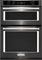"KitchenAid 27"" Black Stainless Steel Electric Built-In Microwave Combination Oven"