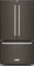 KitchenAid Black Stainless Steel Counter-Depth French Door Refrigerator