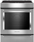 KitchenAid Stainless Steel Slide-In Electric Induction Range