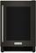 """KitchenAid 24"""" Black Stainless Steel Undercounter Refrigerator"""