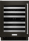 "KitchenAid 24"" Black Stainless Steel Wine Cellar"