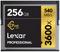 Lexar Professional 256GB 3600x CFast 2.0 Memory Card