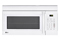 LG Smooth White Over-The-Range Microwave Oven