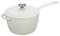 Le Creuset 3.25 Quart White Saucepan