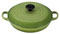 Le Creuset 1.5-Quart Cast Iron Palm Round Braiser
