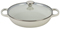 Le Creuset 3.5 Quart White Buffet Casserole With Glass Lid