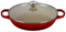 Le Creuset 3.5 Quart Cerise Buffet Casserole With Glass Lid