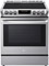 LG Stainless Steel Slide-In Electric Convection Range