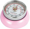 Zassenhaus Pink Retro Kitchen Timer