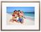 """Memento Walnut Smart Frame 25"""" 4K Digital Picture Frame"""