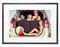 """Memento Black Smart Frame 35"""" 4K Digital Picture Frame"""