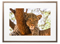 "Memento Walnut Smart Frame 35"" 4K Digital Picture Frame"