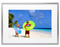 """Memento Silver Smart Frame 35"""" 4K Digital Picture Frame"""