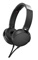 Sony Black On-Ear Wired Extra Bass Headphones