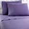 Shavel Micro Flannel California King Plum Sheet Set