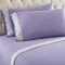 Shavel Micro Flannel Queen Amethyst Lace Edged Sheet Set