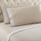 Shavel Micro Flannel Queen Taupe Lace Edged Sheet Set