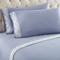 Shavel Micro Flannel Queen Wedgewood Lace Edged Sheet Set