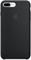 Apple iPhone 7 / 8 Plus Black Silicone Case